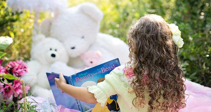 Lectura de cuentos en Boboli