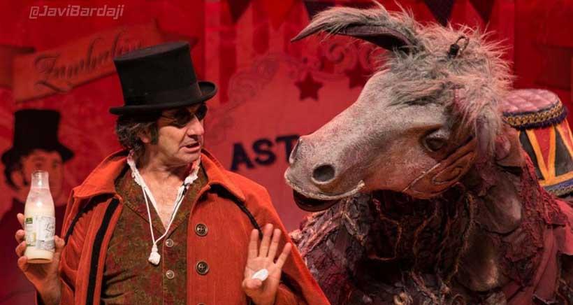 Este domingo, teatro para niños en la CNT: Astokillo Circus