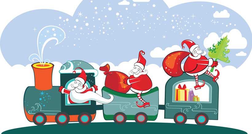 Tren de la navidad de logro o horarios y recorrido Ruta de la navidad 2016