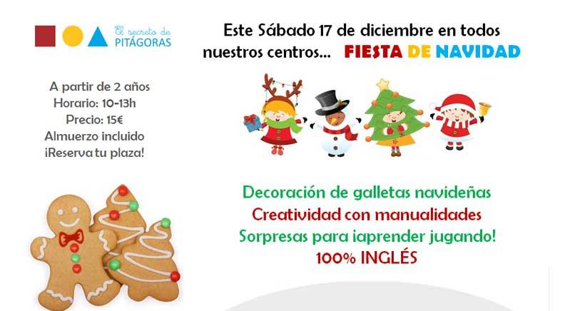 Taller de Navidad en ingles para niños en El Secreto de Pitágoras