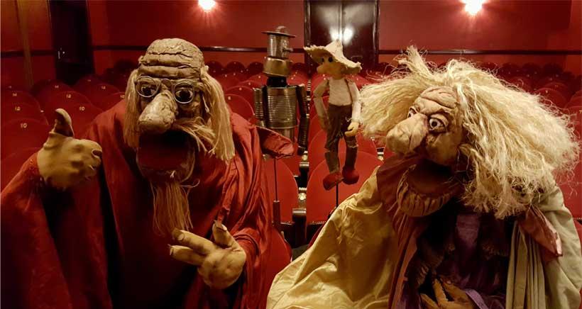 Espectáculo de títeres y marionetas con música en directo