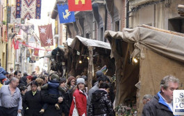Santo Domingo vuelve al medievo durante sus ferias de la Concepción