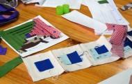 Almazuelas para niños en los talleres del Aula Didáctica de La Grajera