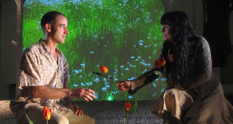 El teatro para bebés se hace hueco en la programación del Festival Garnacha de Haro