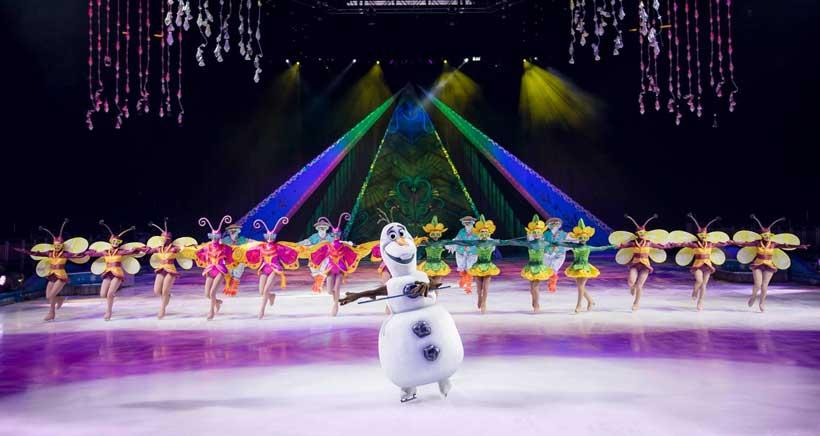 Viajes en familia: Disney On Ice Frozen y la Mujer Gigante