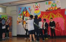 Los alumnos de Adoratrices hacen teatro para los más pequeños