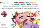 Taller de Carnaval en inglés, en El Secreto de Pitágoras