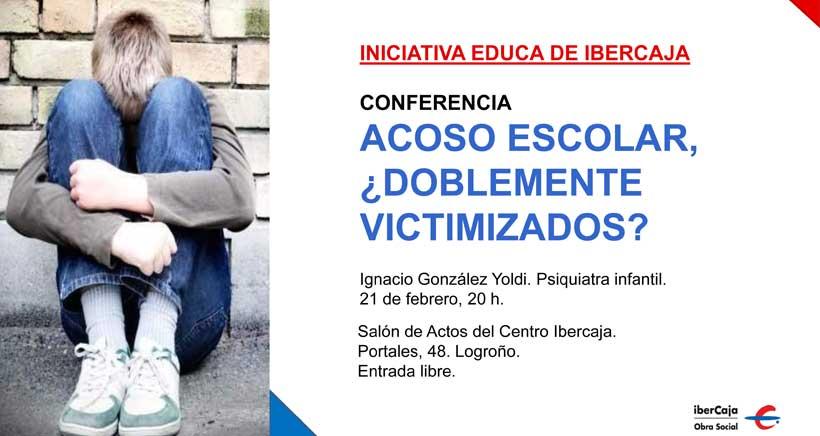 El psiquiatra infantil González Yoldi mostrará los últimos avances contra el acoso escolar