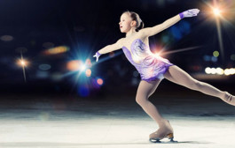 Competición de patinaje artístico sobre hielo en Lobete
