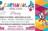 Fiesta de Carnaval para niños en Paintball Ocio Rioja