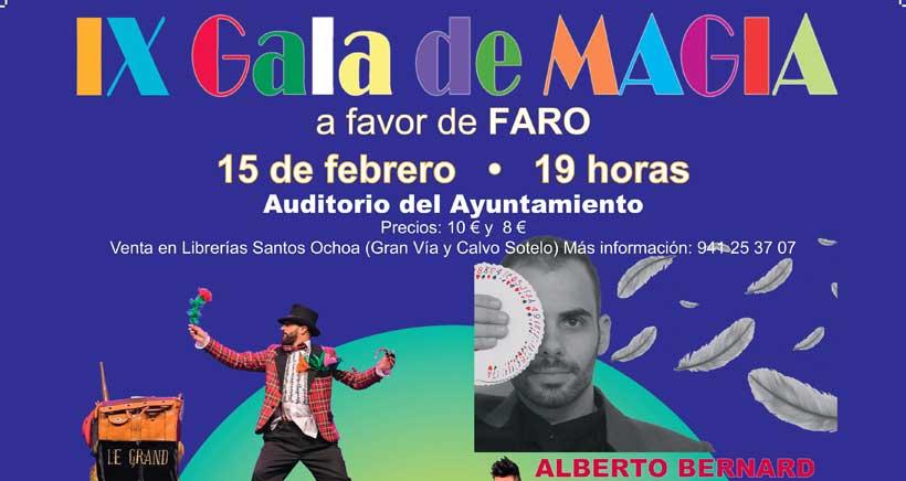 Gala de Magia a favor de FARO Niños con Cáncer