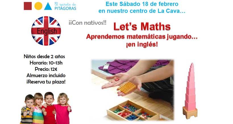 Let´s Maths! Matemáticas en inglés en los talleres de El Secreto de Pitágoras