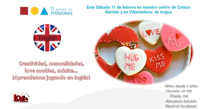 Taller en inglés 'Especial San Valentín' en El Secreto de Pitágoras