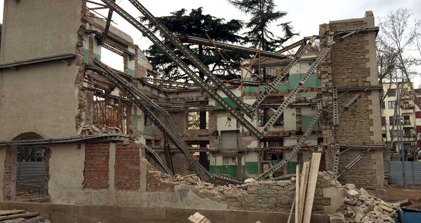 Derrumbe de la Casa del Cuento: el Ayuntamiento confirma que el proyecto seguirá adelante