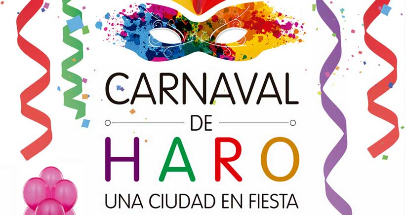 Fiesta de Carnaval para niños en Haro