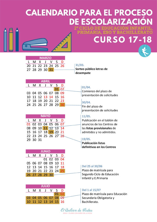 Calendario-resumido-escolarizacion-La-Rioja-2017-18