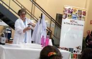 Experimentos científicos en directo en la Casa de las Ciencias