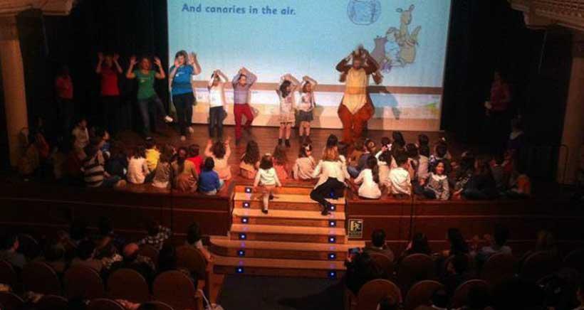 Festival infantil de canciones en inglés