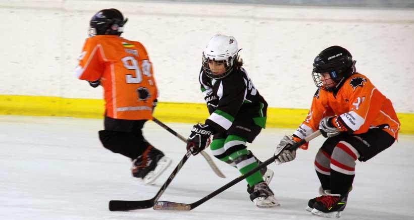 Festival internacional de hockey hielo en Lobete