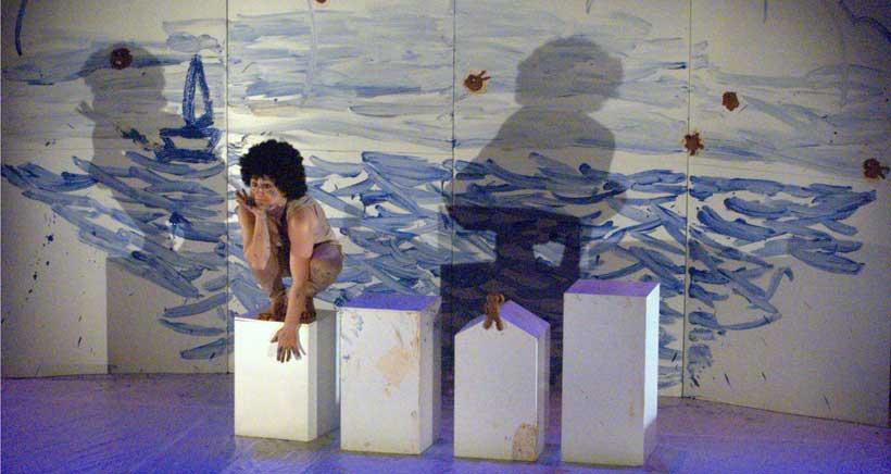 'De agua y barro', teatro para niños desde 2 años, en Teatrea