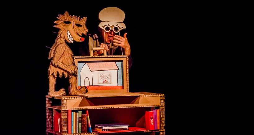 Teatro en inglés: Caperucita Roja en Kamishibai