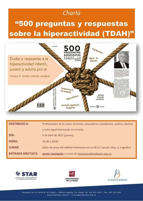 charla-sobre-hiperactivdiad-Emilio-Garrido-en-Logrono