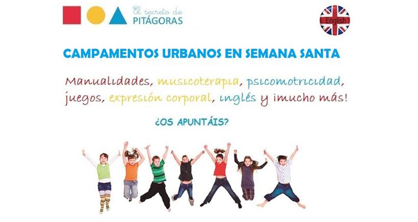Talleres Montessori en inglés, en la ludoteca de Semana Santa de El Secreto de Pitágoras