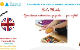 Matemáticas Montessori en inglés, en El Secreto de Pitágoras