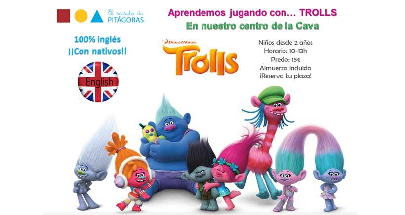 Taller en inglés con Los Trolls