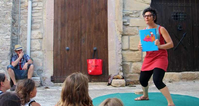 Cuentacuentos con Mon Mas en la Biblioteca de La Rioja