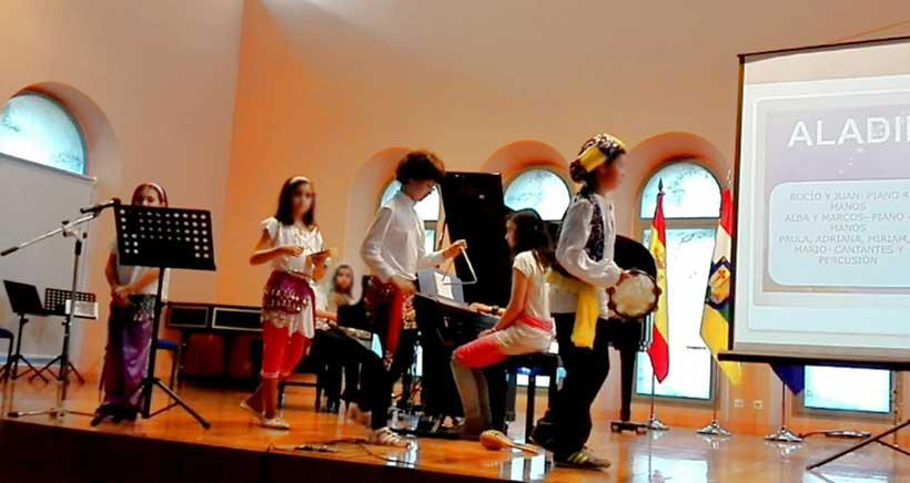 Concierto de bandas sonoras en el Conservatorio
