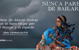 Espectáculo de danzas étnicas a beneficio de Oxfam Intermón