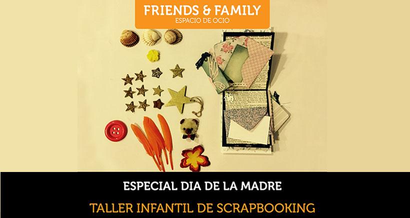 Scrapbooking para niños, taller 'Especial Día de la Madre'