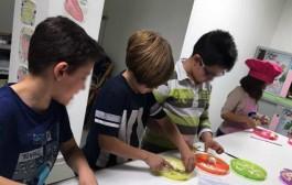 Talleres de cocina para niños en la Plaza de Abastos