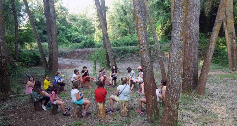 'El Colorao', campamento de verano en Sotés