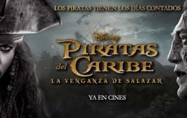 Piratas del Caribe 5: horarios en cines de Logroño