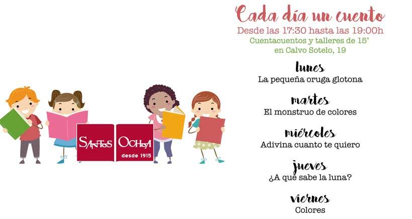 Actividades para niños en Santos Ochoa de Calvo Sotelo
