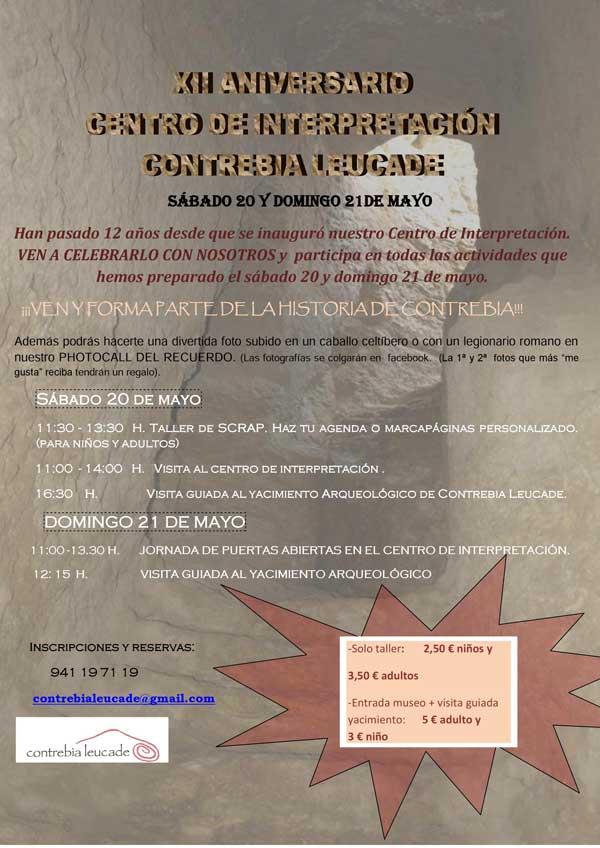 aniversario-centro-de-interpretacion-Contrebia-Leucade