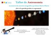 Talleres de astronomía para niños en Pitágoras
