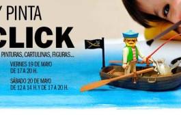 Diseña y pinta muñecos click en Parque Rioja