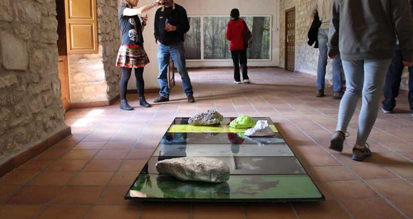 exposicion-lagarto-en-Ermita-Lomos-de-Orio