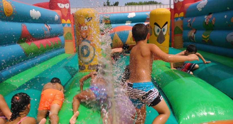 Ludoteca multideporte para niños de Primaria