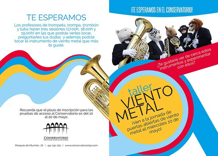 puertas-abiertas-de-Viento-Metal-Conservatorio-Rioja