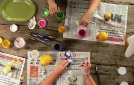 Taller de chiquiarte para niños en Kiwi Lugar de Ocio