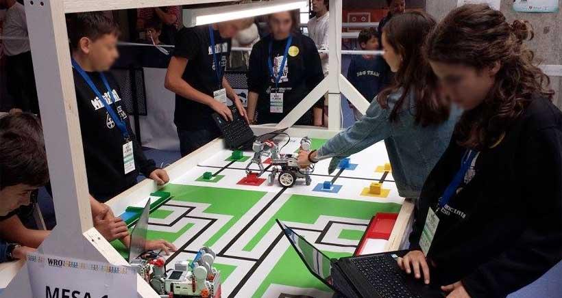 Robots 'made in La Rioja' compiten en la III Olimpiada de Robótica