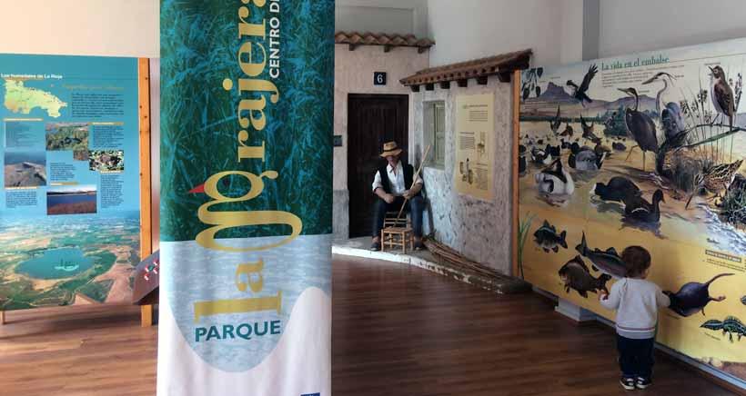 Visitas guiadas al Aula Didáctica de La Grajera y al observatorio de aves
