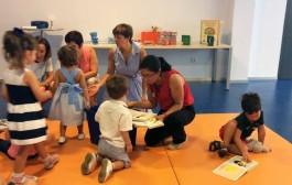 Bebeteca de verano para niños de 2-4 años, en la Rafael Azcona