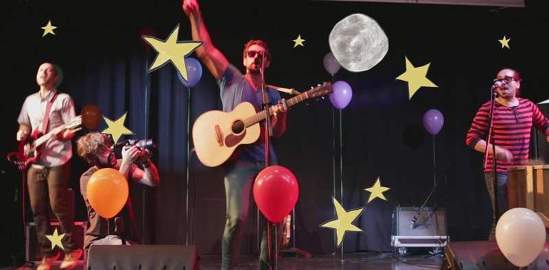 Rock para niños y padres, con la Billy Boom Band en Logroño