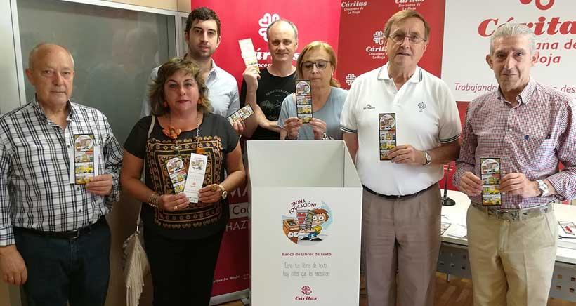 Los libreros riojanos lanzan una campaña solidaria para la donación de libros de texto