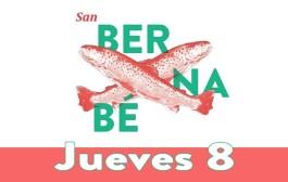 Jueves 8 junio: Programa San Bernabé 2017